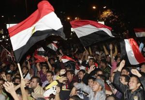 Egyptiske fotballfans har hatt mye å juble for det siste året. Bilde: Muhammed Gefari