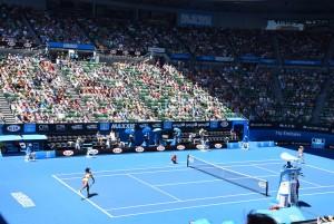 Australian Open 2015 av Tourism Victoria via Flickr (CC BY 2.0)